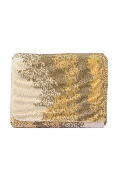 Lovetobag Gold embellished clutch
