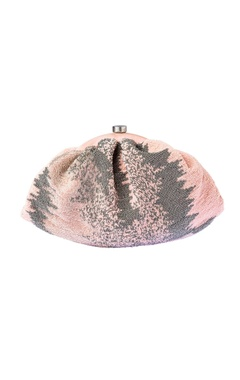 Lovetobag Blush pink embellished clutch