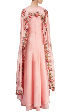 Light pink kurta set with palazzos