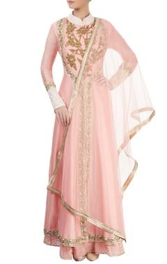 blush pink kurta set