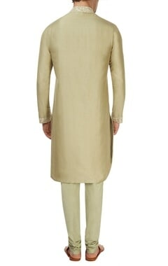 Mint green kurta set