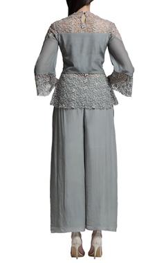 Sage grey culottes