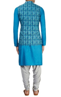 Blue kurta set