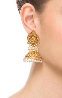 Goddess Laxmi earrings