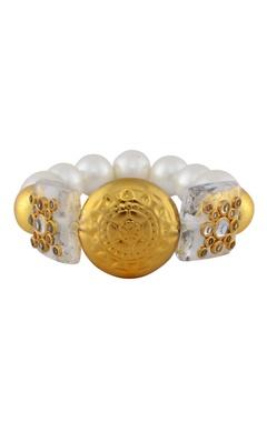 White studded bracelet