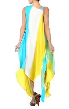 flowy asymmetrical dress