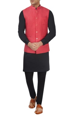 Watermelon red bandi jacket