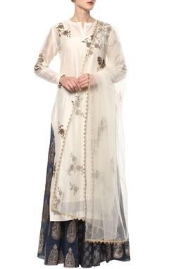 Off-white kurta set