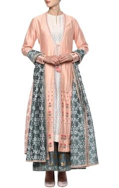 blush pink ethnic kurta set