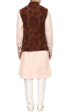 Multicoloured Nehru jacket