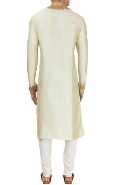 Pistachio green kurta & churidar