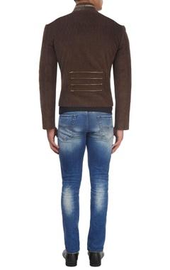 Chocolate brown corduroy jacket