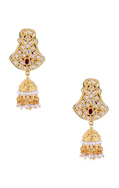 Single jhumka earrings