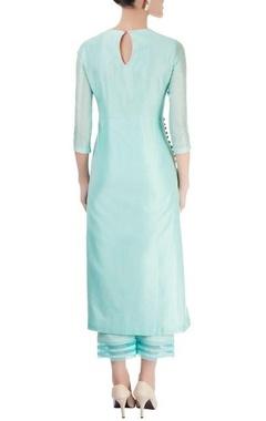 Pastel blue kurta with pants