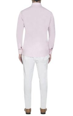 baby pink applique shirt