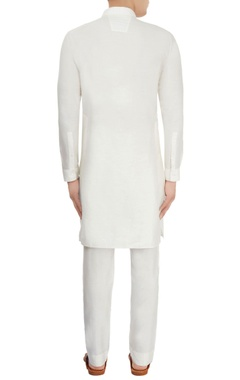 White classic kurta