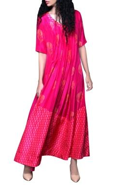 Rani pink printed dress
