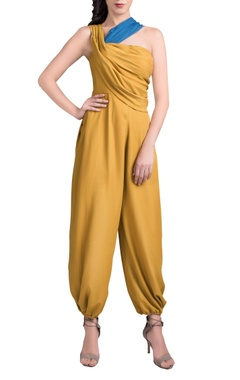 Mustard yellow jumpsuit