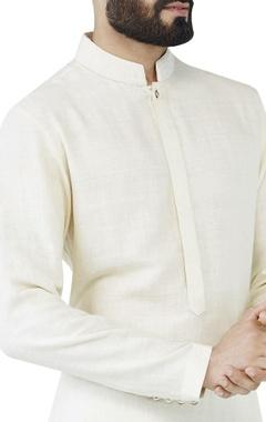 natural asymmetric style kurta