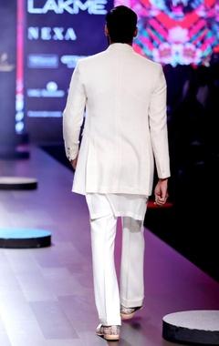 Ivory khadi jacket