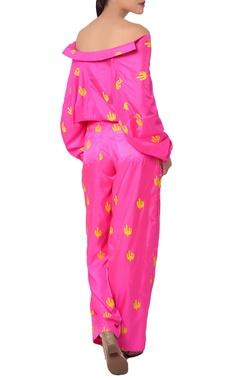hot pink cactus print shirt