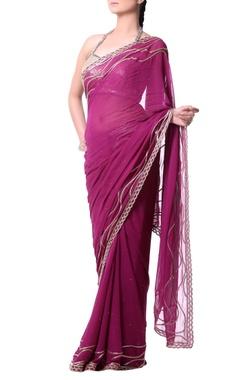 Orchid pink sari