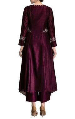 burgundy dori work jacket