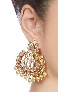 Gold plated baala earrings