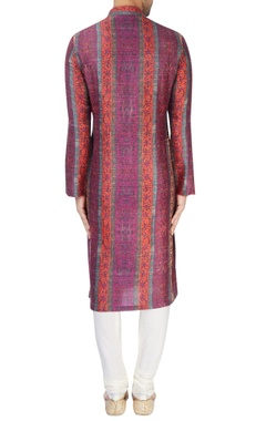 Multi-colored printed kurta