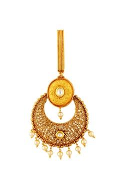 Gold plated waist keychain