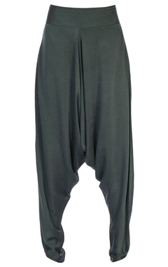 grey waist band dhoti pants