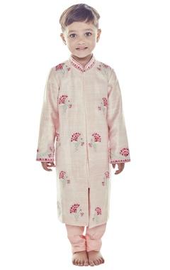Light pink embroidered sherwani