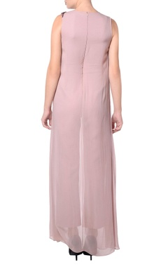 Light purple layered jumpsuit