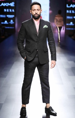 Narendra Kumar - Men Black tuxedo japanese jacket
