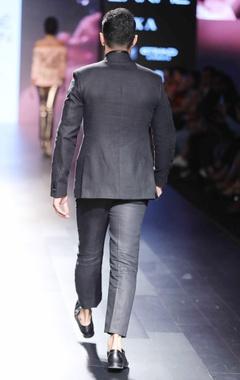 Black tuxedo japanese jacket