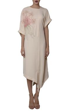 Ivory kimono sleeve tunic