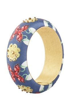 blue digital printed bangle