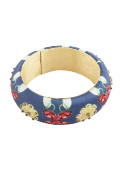 Blue digital printed bangle