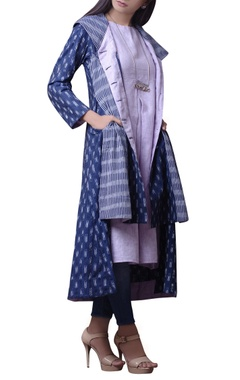 Multicolored printed kurta set