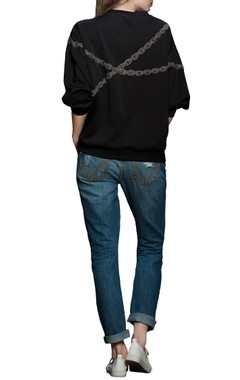 Black rebel heart sweatshirt