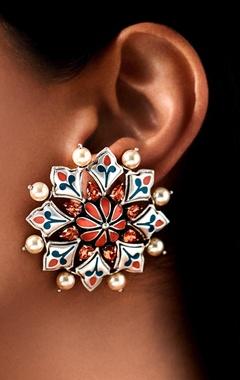 Amrapali mughal stud earrings