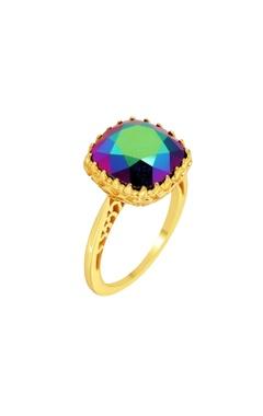 CONFLUENCE - Crystals from Swarovski Eina Ahluwalia Persian jaal ring
