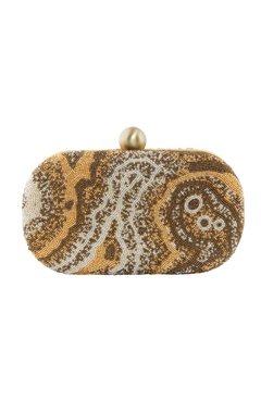 Lovetobag gold & bead embellished potli