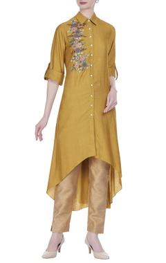 Joy Mitra Long tunic with asymmetric hemline