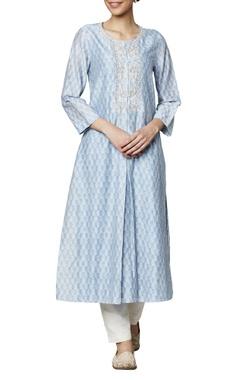 Anita Dongre Powder blue modal silk kurta