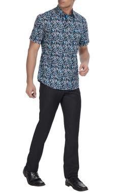 Paresh Lamba Paisley printed kurta shirt.