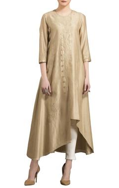 AM:PM Moss  sequin embellished kurta