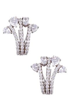 Khushi Jewels Shiny stud encrusted earrings