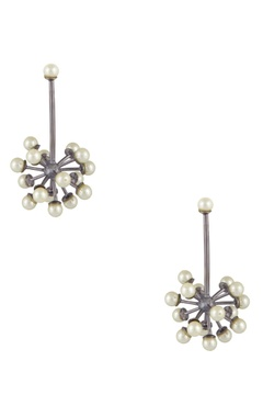 Khushi Jewels Antique structural atom-shaped earrings