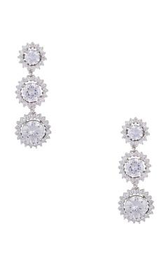 Khushi Jewels Long dangling cocktail earrings